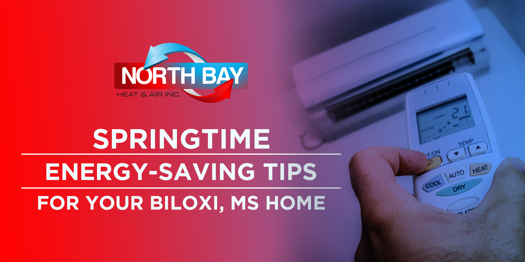 Springtime Energy-Saving Tips for Your Biloxi, MS Home